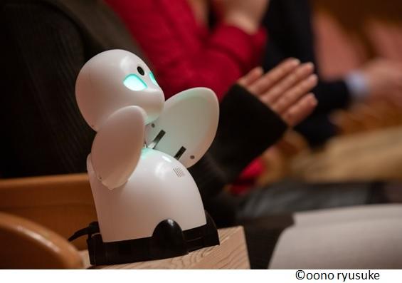 横浜音祭り2019で遠隔での音楽鑑賞を可能にする分身ロボット 「OriHime」を活用した観覧者を募集中