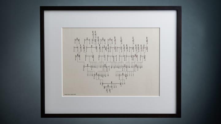 家系図をアートに! 人間国宝の和紙を使用した家系図のクラウドファンディングを開始