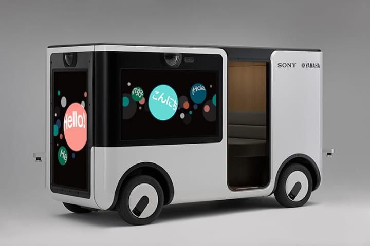 ソニーとヤマハ発動機が開発する「人を乗せて走るスマホ」 ニューコンセプトカート「SC-1」が年内に始動