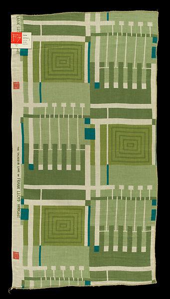 フランク・ロイド・ライトが手がけた生地や壁紙が 米メトロポリタン美術館にて公開中