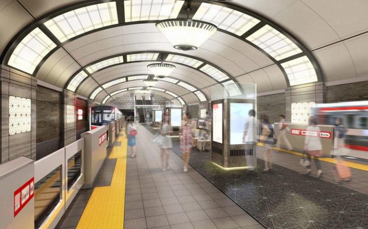 Osaka Metroが公開した15駅のリニューアルデザイン案のうち 5駅のデザインをブラッシュアップして発表