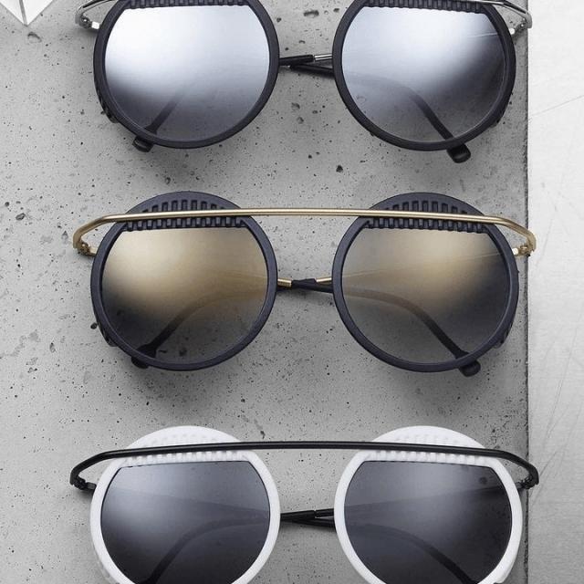 オーストリアのアイウェアブランド「neubau eyewear」 バウハウスに着想を得たサングラス「Walter & …