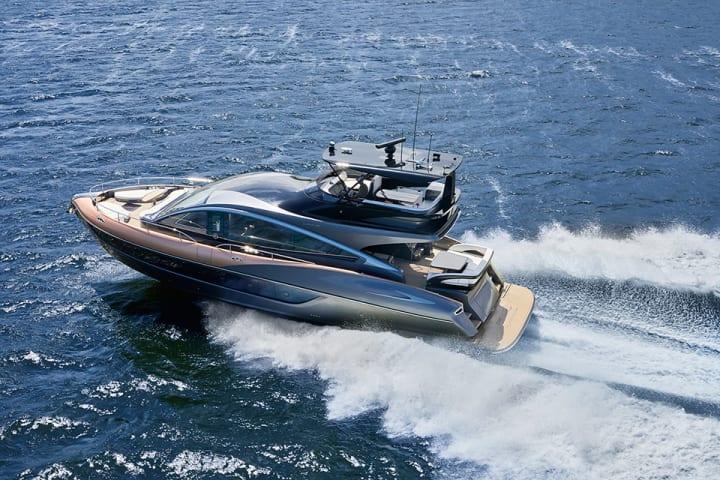 LEXUSがラグジュアリーヨット「LY650」を世界初披露 「CRAFTED」という思想を具現化したフラッグシップ艇