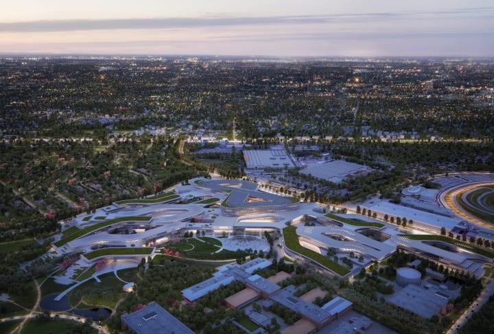 フォードがスノヘッタの手がけたマスタープランを発表 米ミシガン州の工場施設をグローバル拠点として再編