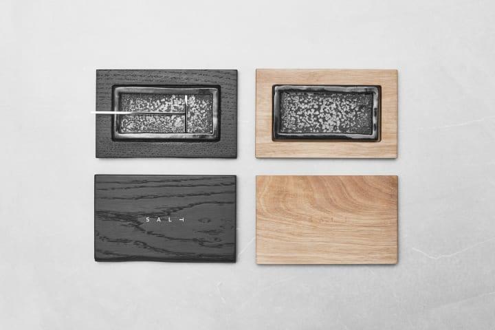 ザグレブのデザインデュオ BOIRによるテーブルウェア 塩の収穫を体験できる容器「SAL⊥」
