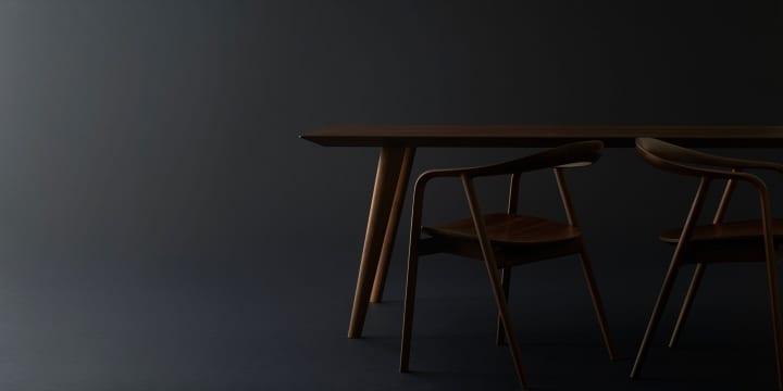創業100周年を迎える家具メーカー 飛騨産業 隈研吾とコラボした椅子・テーブルシリーズ「クマヒダ」を発表