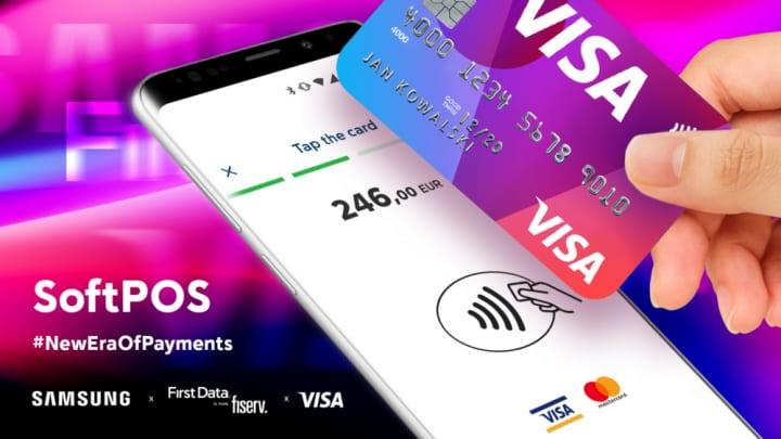 サムスン電子がVisaなどとともに開発 非接触型決済サービス「SoftPOS」を発表