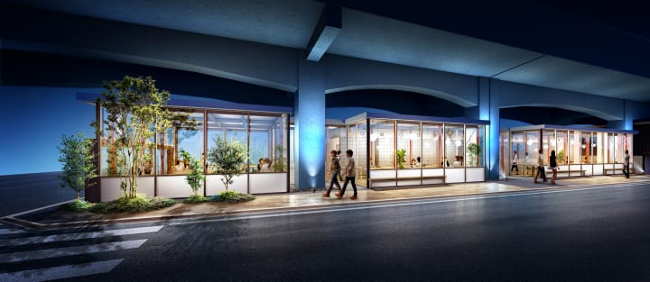 JR東日本が中央線東小金井駅~武蔵小金井駅間の 高架下に学生向け賃貸住宅を新設