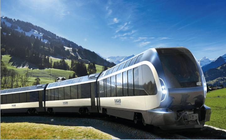 ピニンファリーナがリデザインした車両が発表 スイスの絶景ルートを走る観光列車