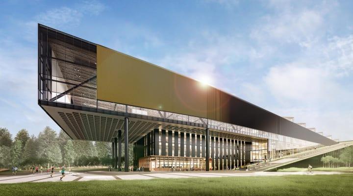 スポーツリサーチラボが入る米ナイキ本社の新社屋 「レブロン・ジェームズ・ビル」と命名