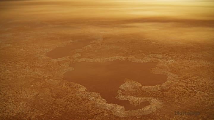 土星の衛星 タイタンの湖はどのようにできた!? カッシーニが得たデータからNASAが新研究を発表