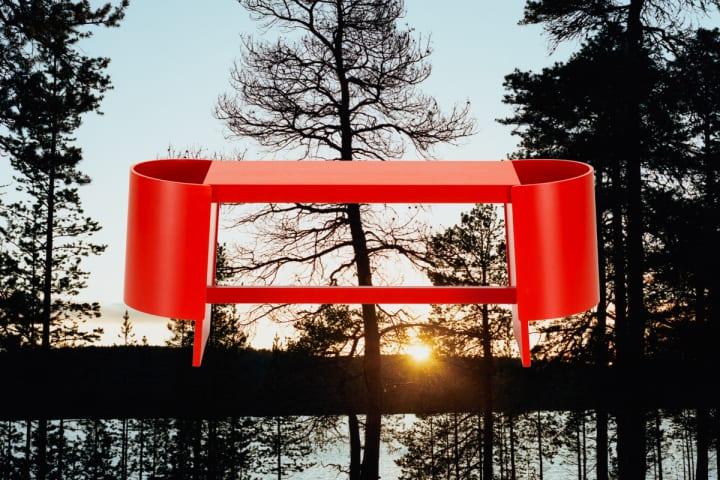アルテックが二俣公一デザインの「キウル ベンチ」を発売開始 記念展示「Landscape of Design」も開催