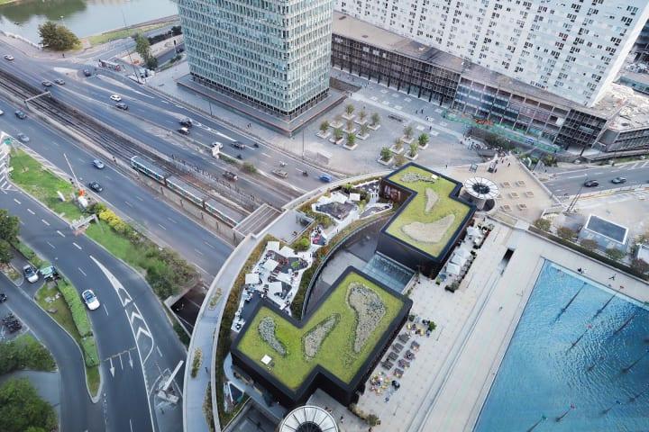 パリ郊外ラ・デファンス地区の新施設 Malka Architectureが手がけた「Oxygen」