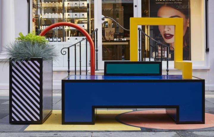 デザイナー カミーユ・ワララがカラフルなストリートファニチャー 「Walala Lounge」をロンドン・デザイン…