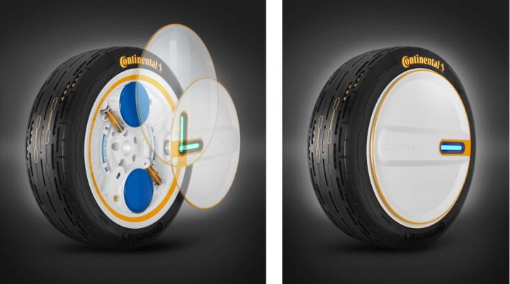 コンチネンタルが未来のタイヤをデザイン 包括的な技術システム「Conti C.A.R.E.」を公開
