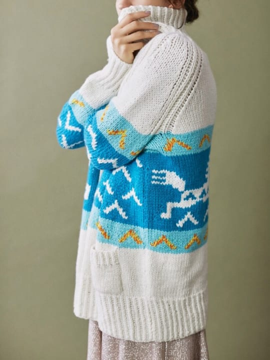 気仙沼ニッティングとロンハーマンがコラボ カシミヤをふんだんに使った手編みのニット