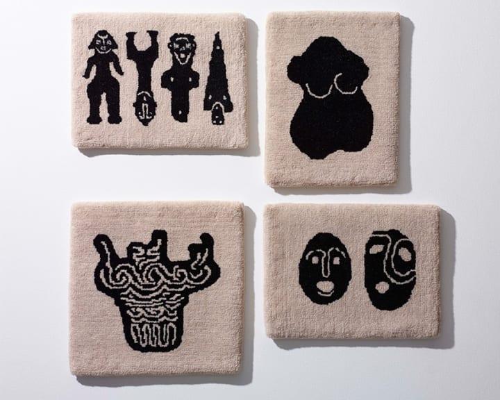 和樂から「JOMON緞通」タペストリー&ミニラグ が登場 絨毯メーカー「米沢緞通 滝沢工房」が縄文を描く