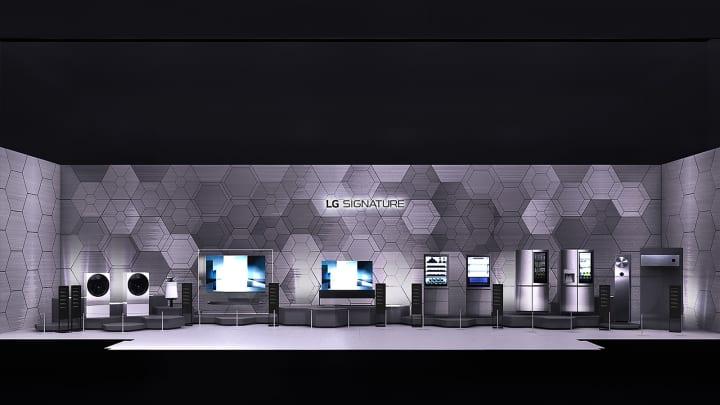 LGエレクトロニクスがStudio Fuksasとコラボ 「LG SIGNATURE」のためのインスタレーションを公開