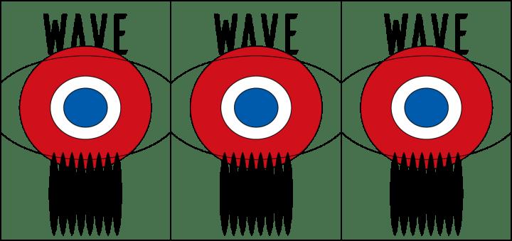 アートディレクター・イラストレーター・アーティストなど 総勢157名によるイラストレーション展「WAVE201…