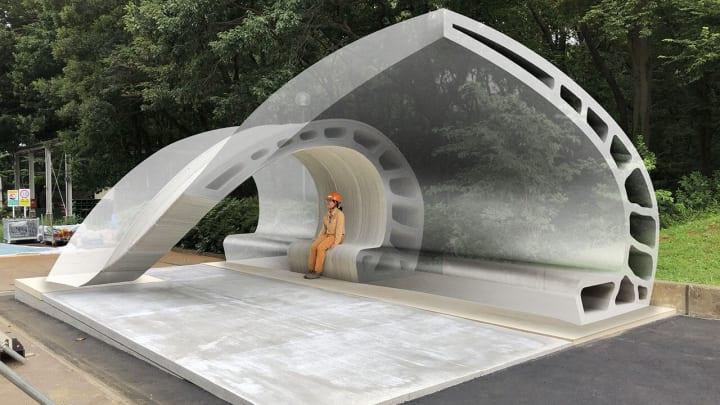 大林組が3Dプリンター用特殊モルタルと 超高強度繊維補強コンクリートとの複合構造を開発