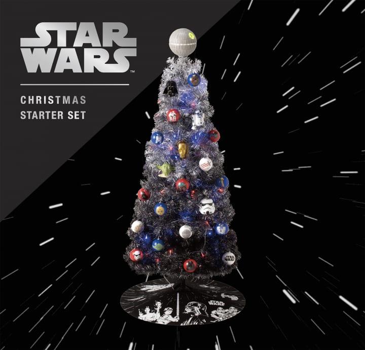 Francfrancから「スター・ウォーズ」クリスマスツリー登場 初回限定版は「BB-8」の3Dオーナメント付き