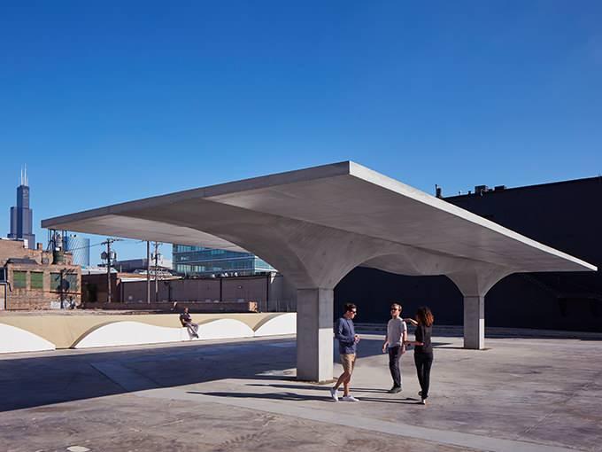 SOMがCO2削減を提案するパビリオン 「Stereoform Slab」をシカゴ建築ビエンナーレ2019で公開
