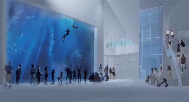 台湾に2021年開業予定の台中市海洋生態館の企画・設計業務をUDSが受注 コンセプトは「New Standard」