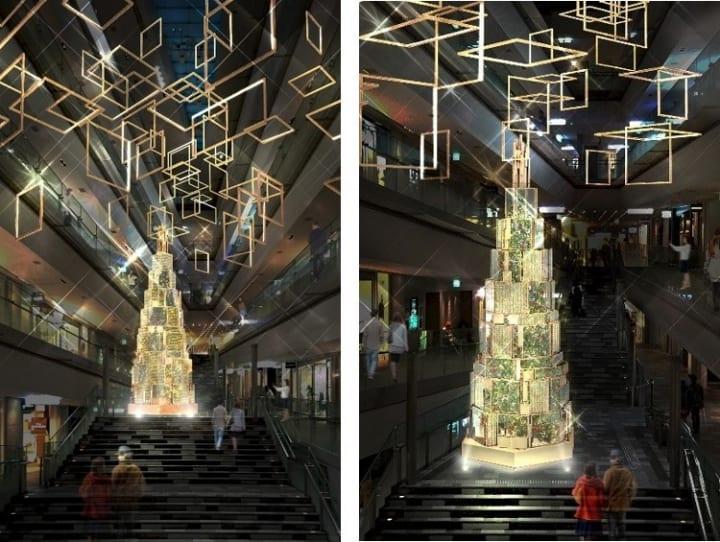 デザインスタジオ「we+」を起用したクリスマスプロモーション 表参道ヒルズで「OMOTESANDO HILLS CHRISTMA…