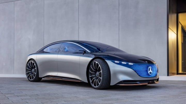 高級ヨットをイメージしたメルセデス・ベンツのコンセプトカー 「VISION EQS」が東京モーターショーで公開
