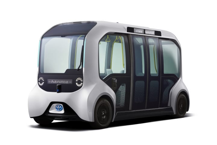 トヨタ自動車が東京オリンピック・パラリンピック仕様の Autono-MaaS専用EV「e-Palette」の詳細を公表