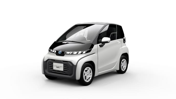 トヨタ自動車が東京モーターショー2019で「超小型EV」を出展 2020年冬頃の発売を予定