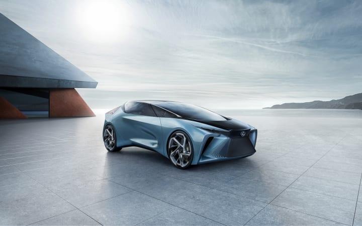 LEXUSの電動化ビジョンを象徴するコンセプトカー 「LF-30 Electrified」を世界初公開