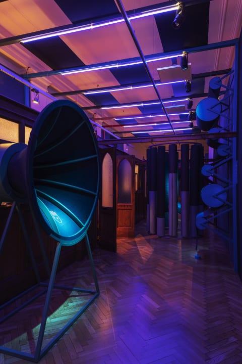 大丸心斎橋店本館の「OSAKA x MILANO DESIGN LINK 2019」にて デニムメーカー ISKOによる没入型インスタレ…