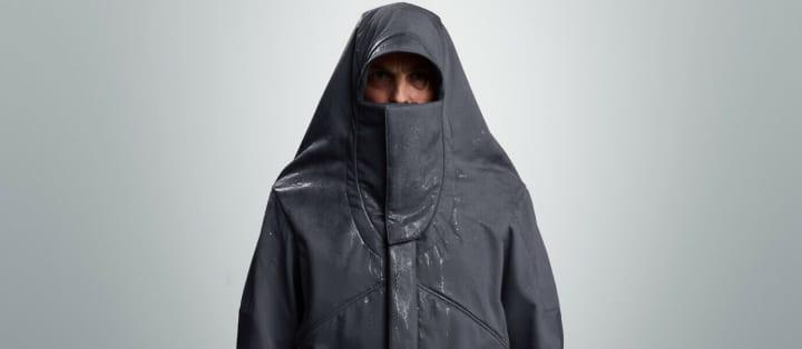 Vollebakによる斬新なテーマのジャケット 先史時代に大冒険を果たした人類を称える 「50,000BC Jacket」