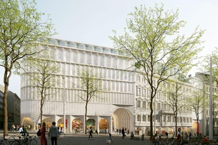 ドイツの老舗デパート「カーデーヴェー」 ウィーン店でもOMAがリニューアルを展開