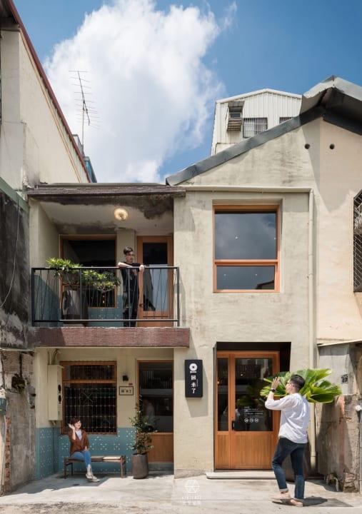 台湾のデザインスタジオ 大見室所による 台中市のレストラン「回 未了 日式丼飯」の改装計画