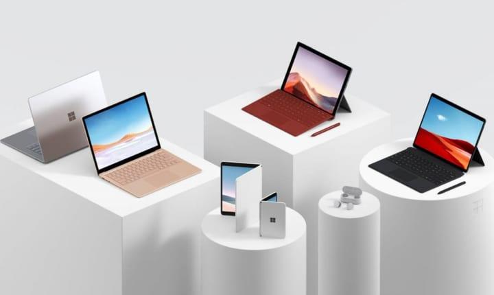 マイクロソフトが折りたたみ式デュアルスクリーンデバイス 「Surface Neo」と「Surface Duo」を発表