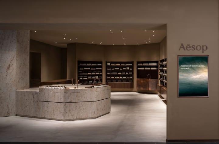 二俣公一のCASE-REALが「イソップ 大丸心斎橋店」の内装を手がける ヴォーリズのフィロソフィーに触れるよ…