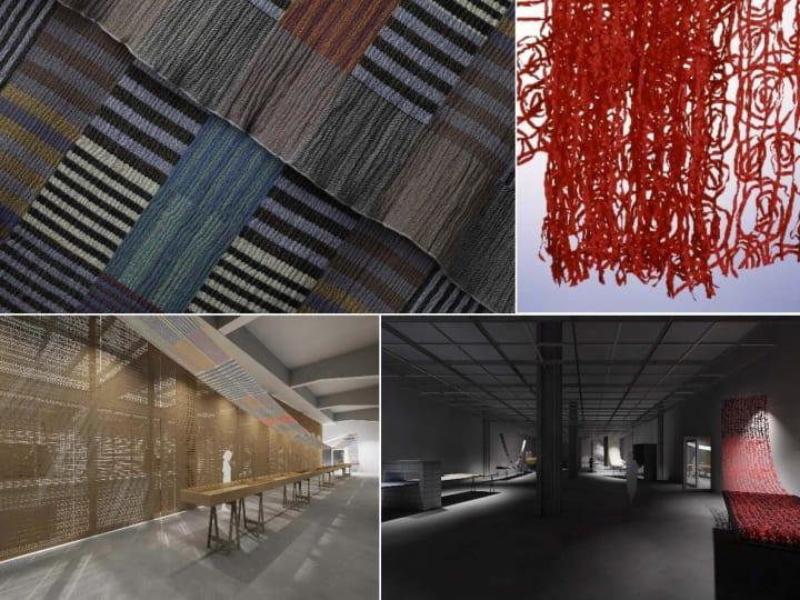展覧会「須藤玲子の仕事―NUNO のテキスタイルができるまで」 香港のアートセンター「CHAT」にて開催