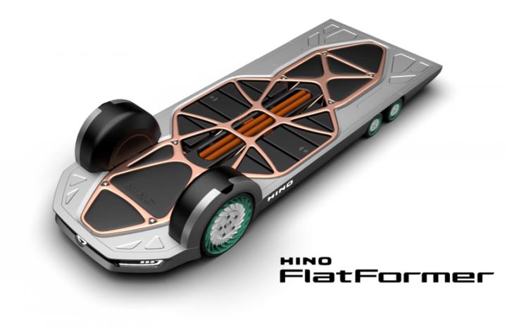 日野自動車が変幻自在に暮らしを最適化する コンセプトモデルを「東京モーターショー2019」に出展