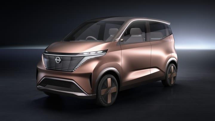 日産自動車のEVコンセプトカー「ニッサン IMk」 東京モーターショー2019に出展