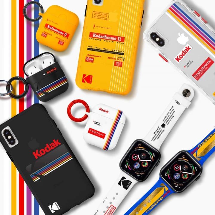 Kodak×Case-MateのiPhoneケースが登場 AirPodsケースやApple Watchバンドもラインナップ