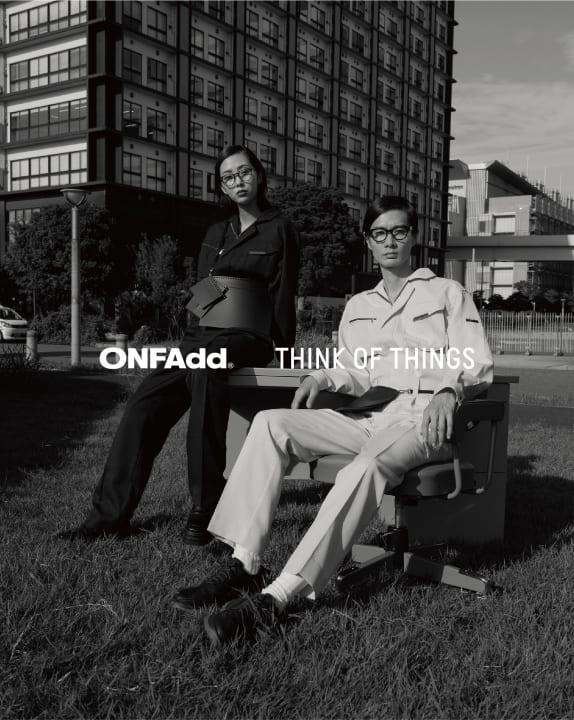 「THINK OF THINGS」と「ONFAdd」がコラボレーション 文具から発展した新しいプロダクトコレクションを披露