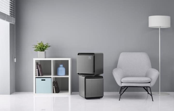 サムスン電子が新しい空気清浄機シリーズを発表 スタイリッシュで現代のインテリアに合うデザイン