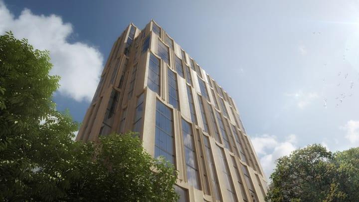 ボストンのレジデンシャルタワー「212 Stuart Street」 南北で違う表情をもつHöweler and Yoon Architectu…