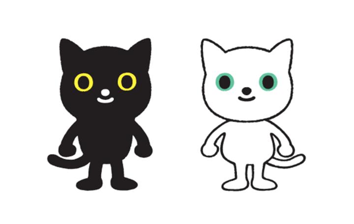 ヤマトの「クロネコ・シロネコ」がリニューアル 坂崎千春がシンプルで親しみやすいネコをデザイン