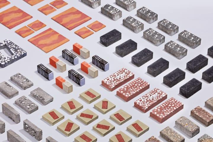 アイントホーフェンのデザイン集団「envisions」 市内の舗装路のために革新的なデザインの石を制作