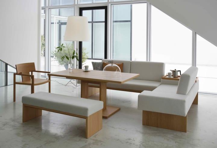 家具メーカー エスティックのブランド「Formax」から デザイナーに安積伸と藤森泰司を迎えた新作の家具シ…