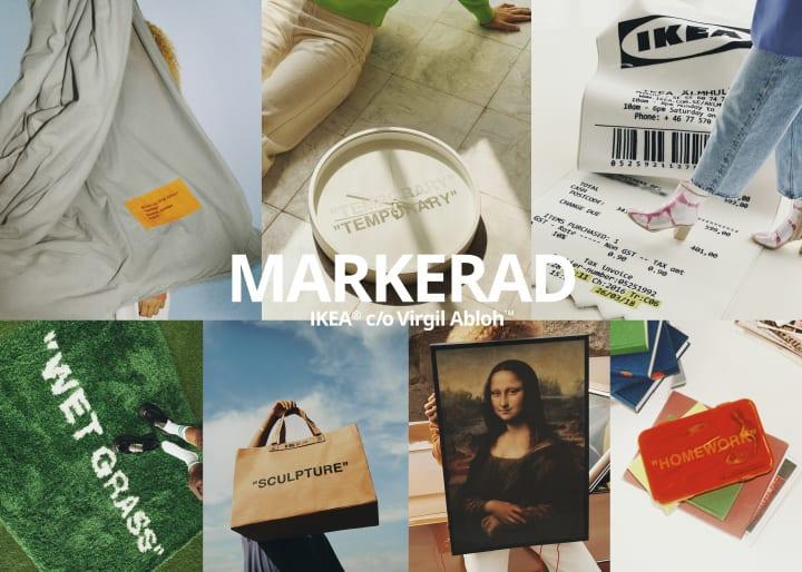 イケアとヴァージル・アブローの限定コレクション 「MARKERAD/マルケラッド」 が2019年11月1日(金)に発売