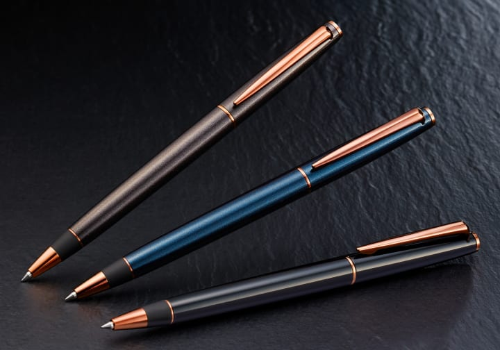三菱鉛筆「ジェットストリーム」から新製品2種が登場 高級感あふれる「プライム」と超極細を実現した「エ…